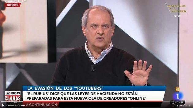 Javier Aroca en 'Las Cosas Claras'