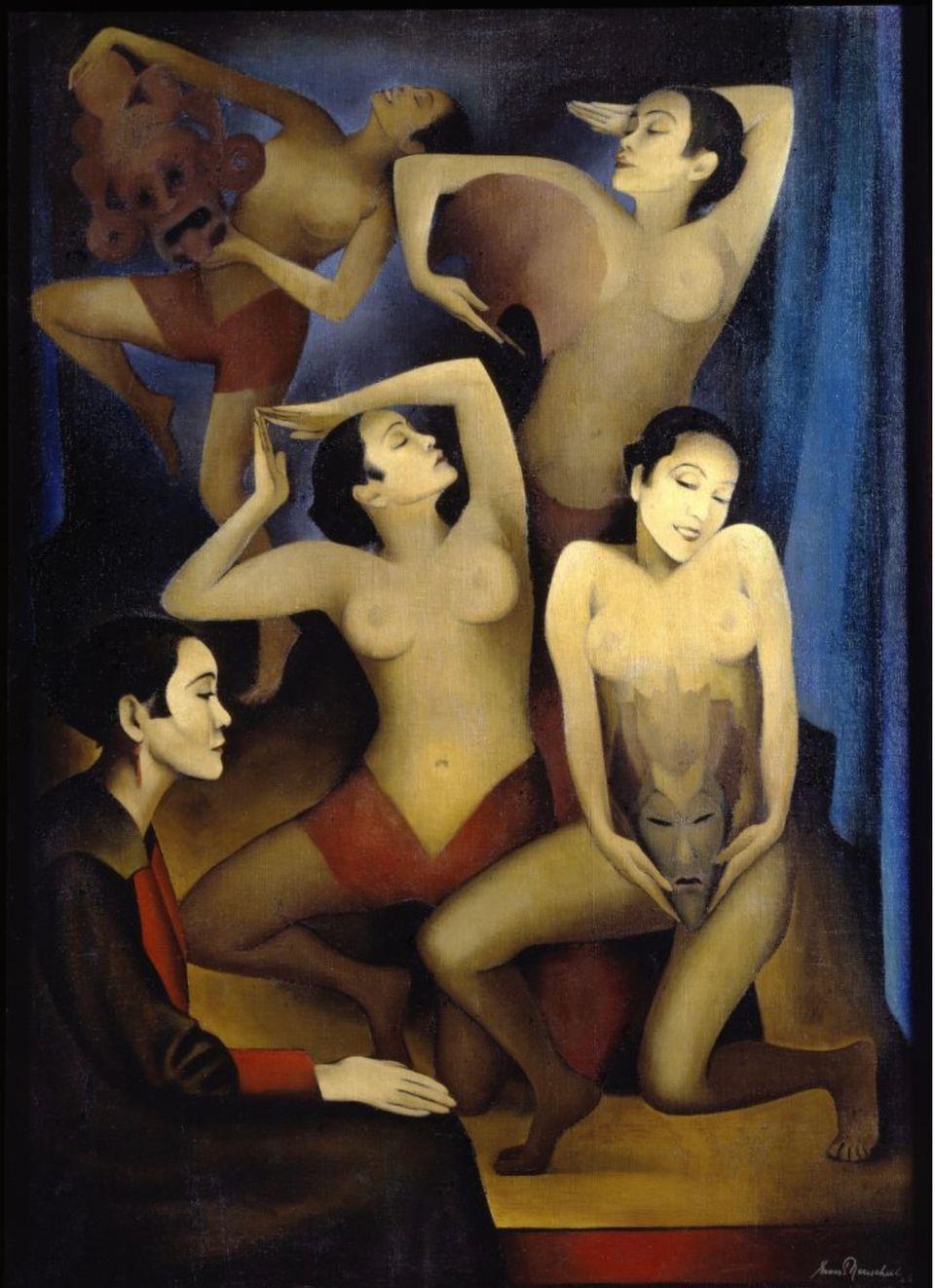 Ernest Neuschul, Takka-Takka baila (Takka-Takka tanzt), 1926 © Nachlass Ernest Neuschul