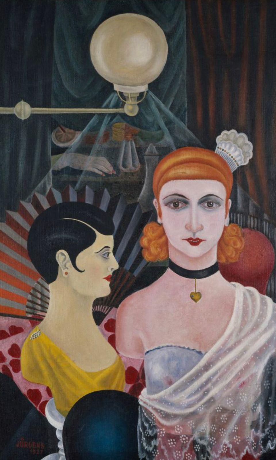 Grethe Jürgens Maniquíes de peluquería (Frisierpuppen), 1927 © Sprengel Museum Hannover, Vermächtnis...