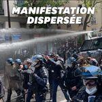 La manifestation pro-Palestine à Paris dispersée par les forces de