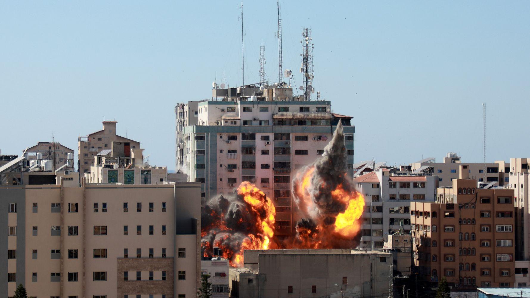 AP President 'Shocked And Horrified' At Israel Bombing Of Gaza Media Building