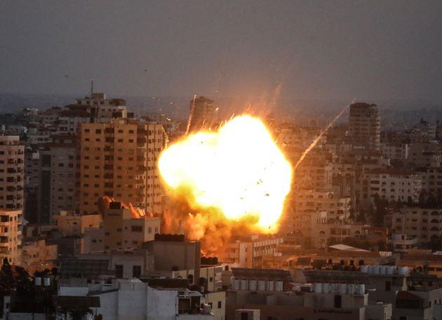 Ataque israelí sobre Gaza este
