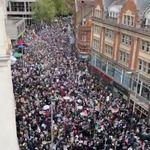 Miles de personas salen a las calles de Londres, París y Berlín en apoyo a los