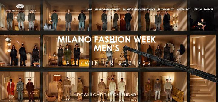 Η Εβδομάδα (Ανδρικής) Μόδας Μιλάνου θα παρουσιάσει συλλογές για το φθινόπωρο και τον χειμώνα του '21-'22