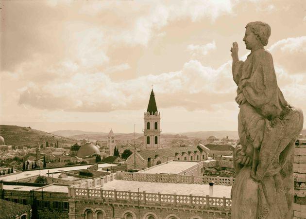Ιερουσαλήμ 1934 - Θέα από...