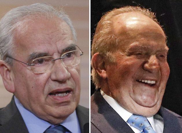 Alfonso Guerra y el rey emérito, Juan Carlos