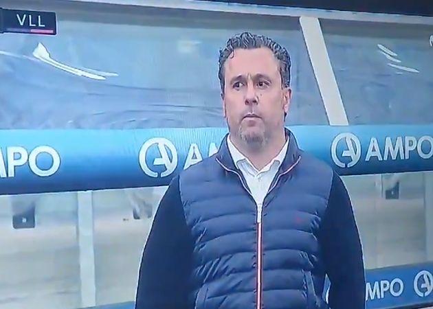 Sergio, entrenador del