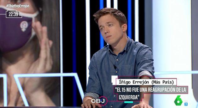 Íñigo Errejón, en 'El