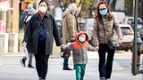NEW YORK, NEW YORK - DECEMBER 11: People wear face masks on the Upper West Side as the city continues the re-opening efforts following restrictions imposed to slow the spread of coronavirus on December 11, 2020 in New York City. The pandemic has caused long-term repercussions throughout the tourism and entertainment industries, including temporary and permanent closures of historic and iconic venues, costing the city and businesses billions in revenue. (Photo by Noam Galai/Getty Images)