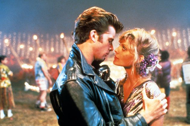 Maxwell Caufield and Michelle Pfeiffer in Grease