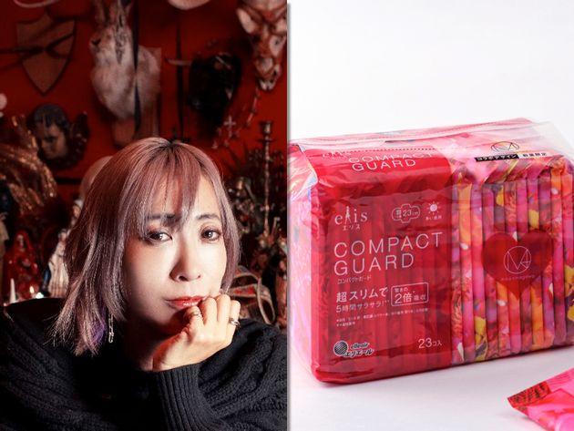 蜷川実花さんのブランドとコラボした生理用品