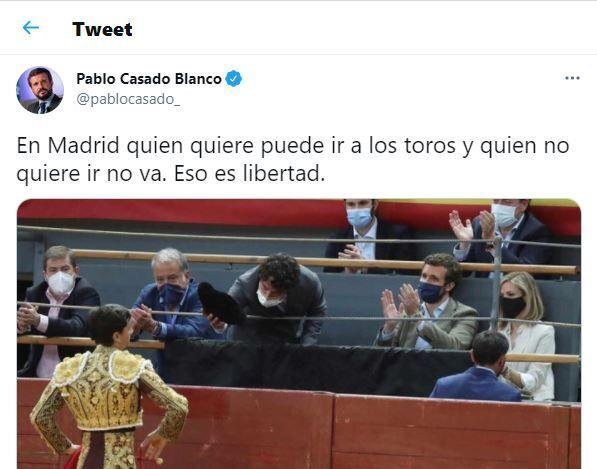 El polémico tuit de Pablo