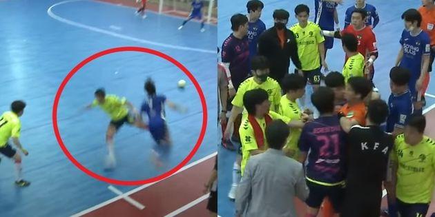 Jecheon FS Choi Byung-tae es rudo