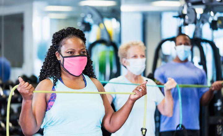 Fitness classes are back on the cards.