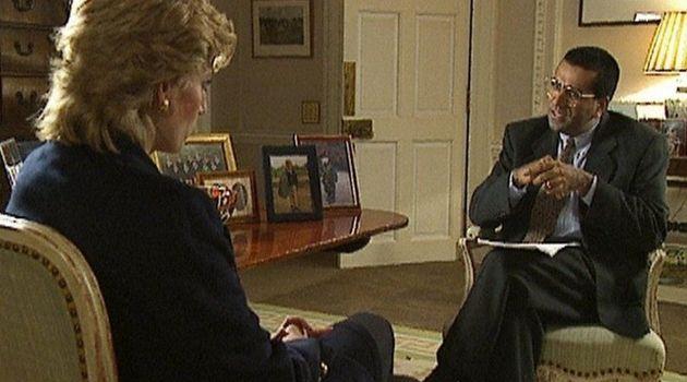 Lady Di en su entrevista en la BBC en