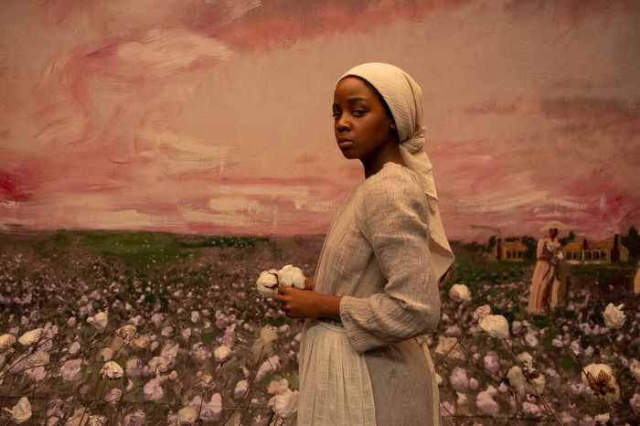 """""""The Underground Railroad,"""" a new Amazon Prime Video series, tells the story of Cora (Thuso Mbedu)."""
