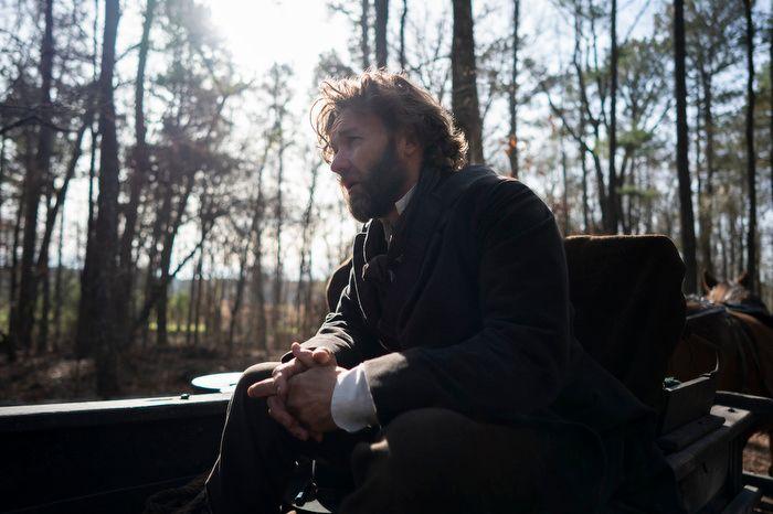 "Arnold Ridgeway, portrayed by Joel Edgerton, is a slave catcher in ""The Underground Railroad."""