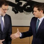La incómoda cena entre Rivera y Rajoy que sale ahora a la luz: no se entendían ni en las