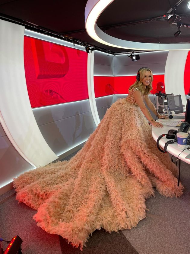 Amanda Holden marked the latest unlocking in a very low-key
