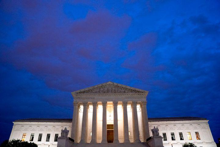 The U.S. Supreme Court on April 29, 2021 in Washington, DC.