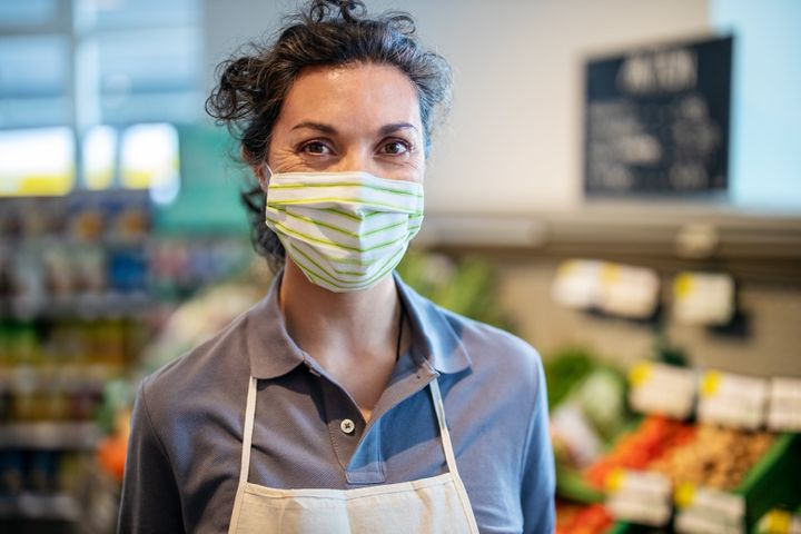The CDC's new mask guidelines have workers wondering about the implications for their own jobs.