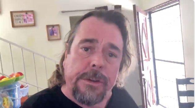 Juan Muñoz se graba un vídeo en