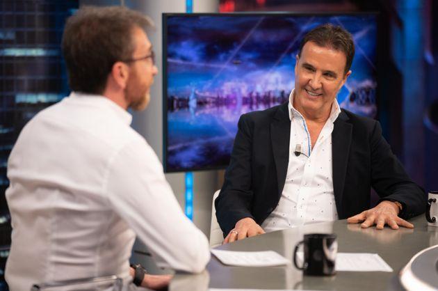 Pablo Motos y José Ramón de la Morena en el plató de 'El