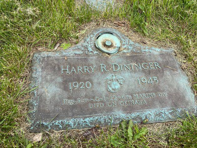ハリーさんのお墓