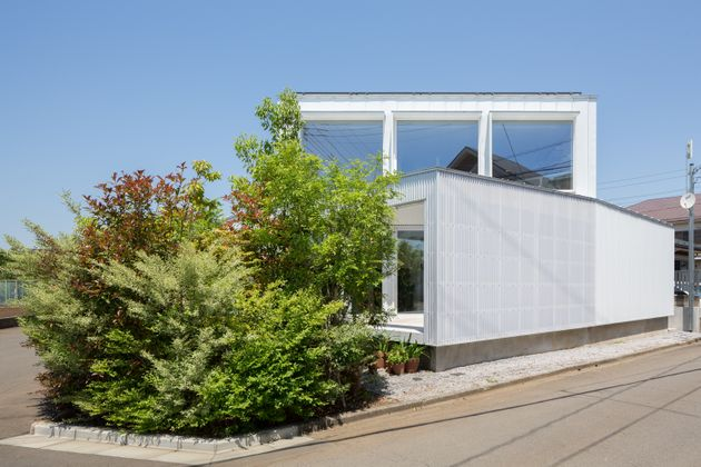 川島さんが設計し、「第7回サステナブル住宅賞」国土交通大臣賞(最優秀賞)などを受賞した「Diagonal