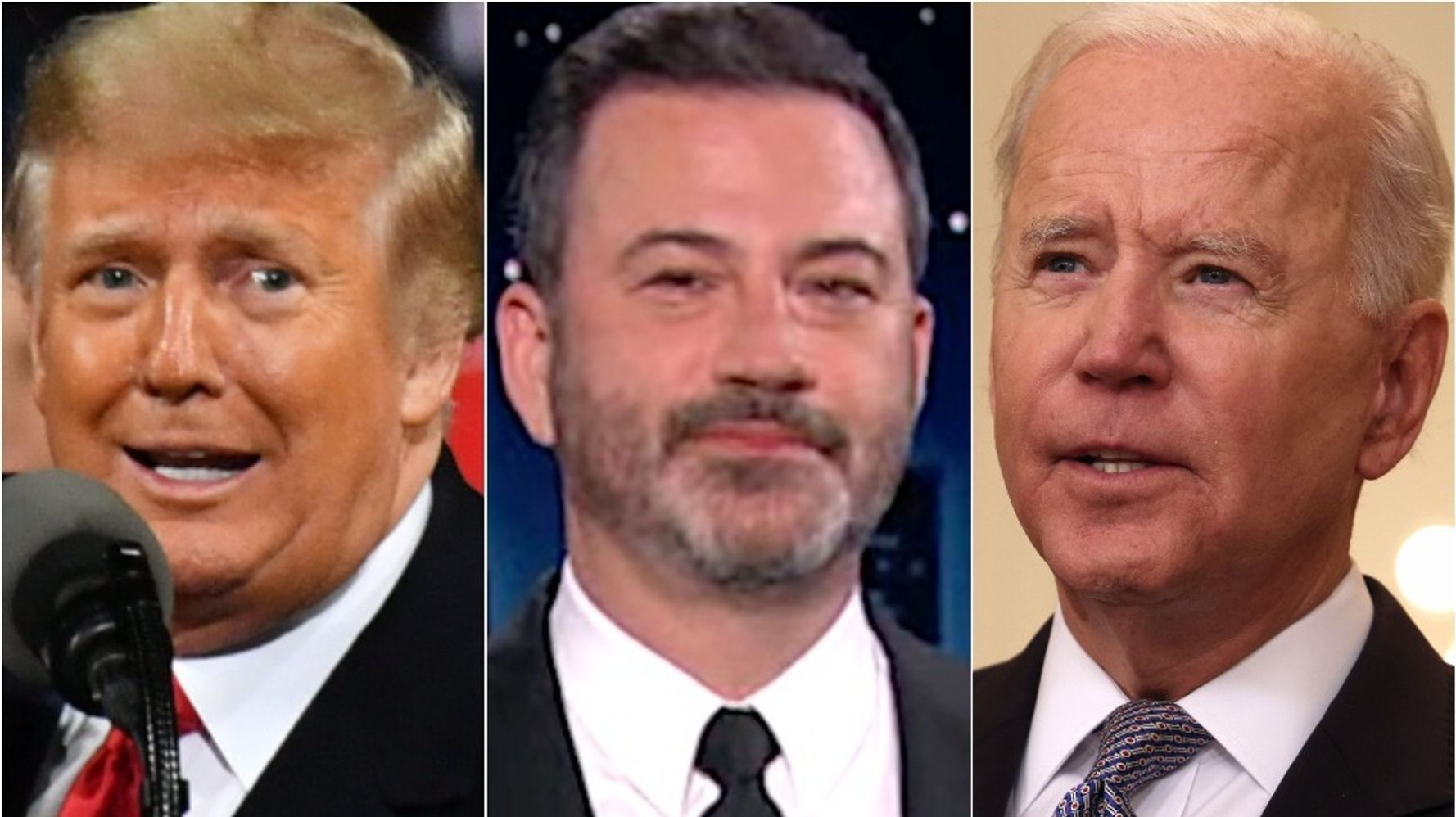 Jimmy Kimmel Reveals The 'Quintessential Trump Project' Biden Just Canceled