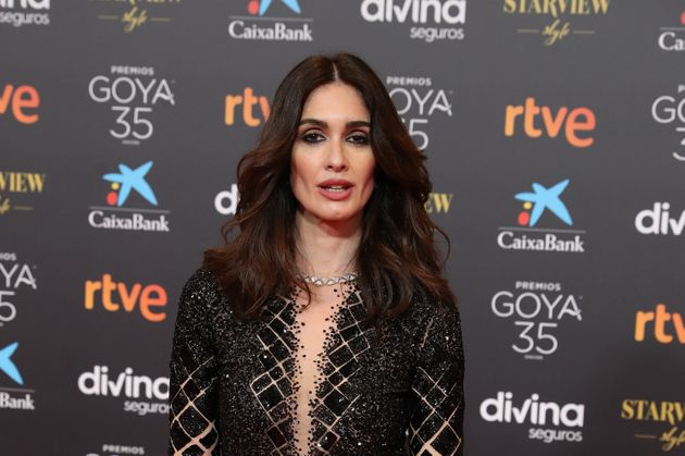 La actriz Paz Vega, en los Premios Goya 2021 en