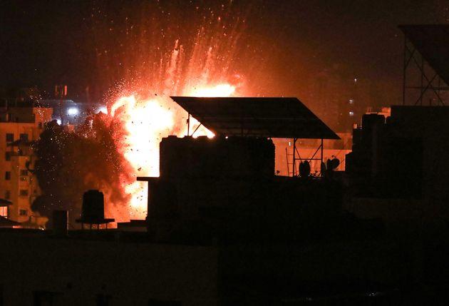 Ataque israelí en Gaza esta