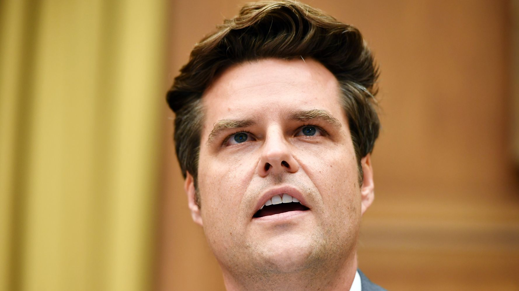 Rep. Matt Gaetz Receives Hard-To-Miss Message In The Sky After Pal's Sex Trafficking Plea