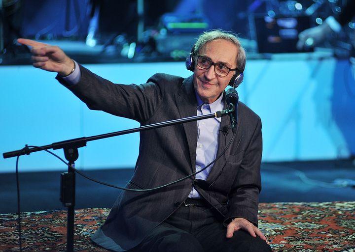 Franco Battiato, en una actuación en Milán en 2013.