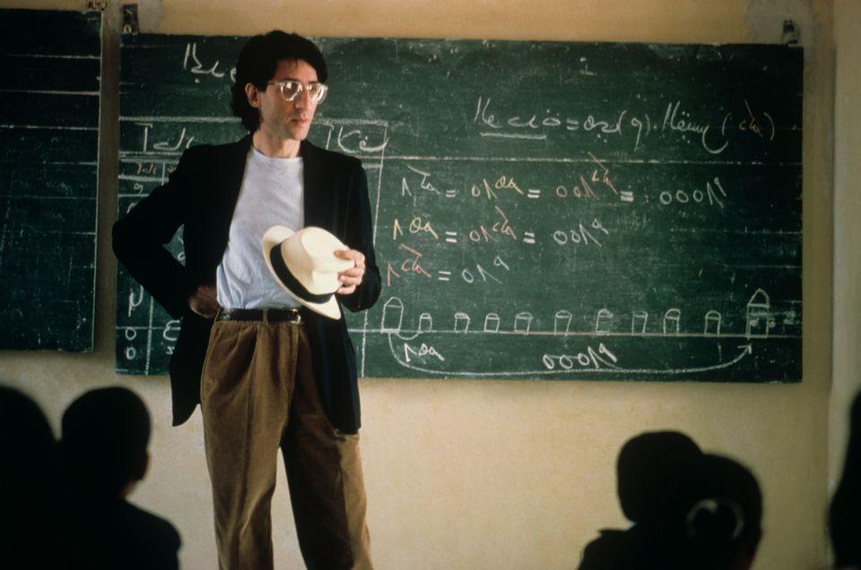 Franco Battiato nel 1988. (Photo by Rino Petrosino/Mondadori via Getty