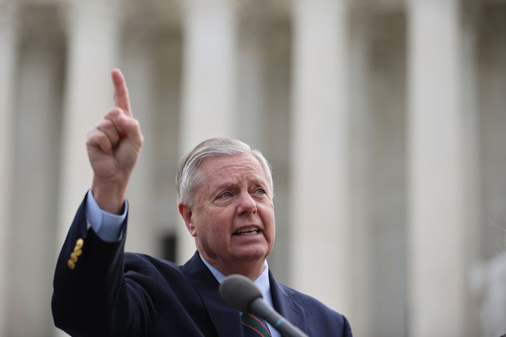 Sen. Lindsey Graham (R-S.C.) is urging former PresidentDonald Trump and other Republicans to focus on the midterms.