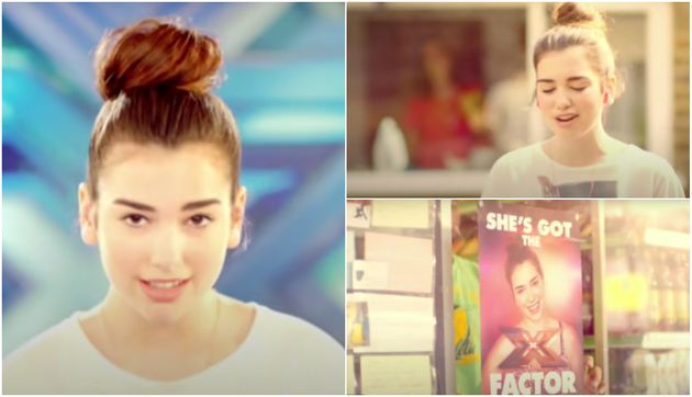Dua Lipa Starred In An Advert For The X Factor Way Back in 2013