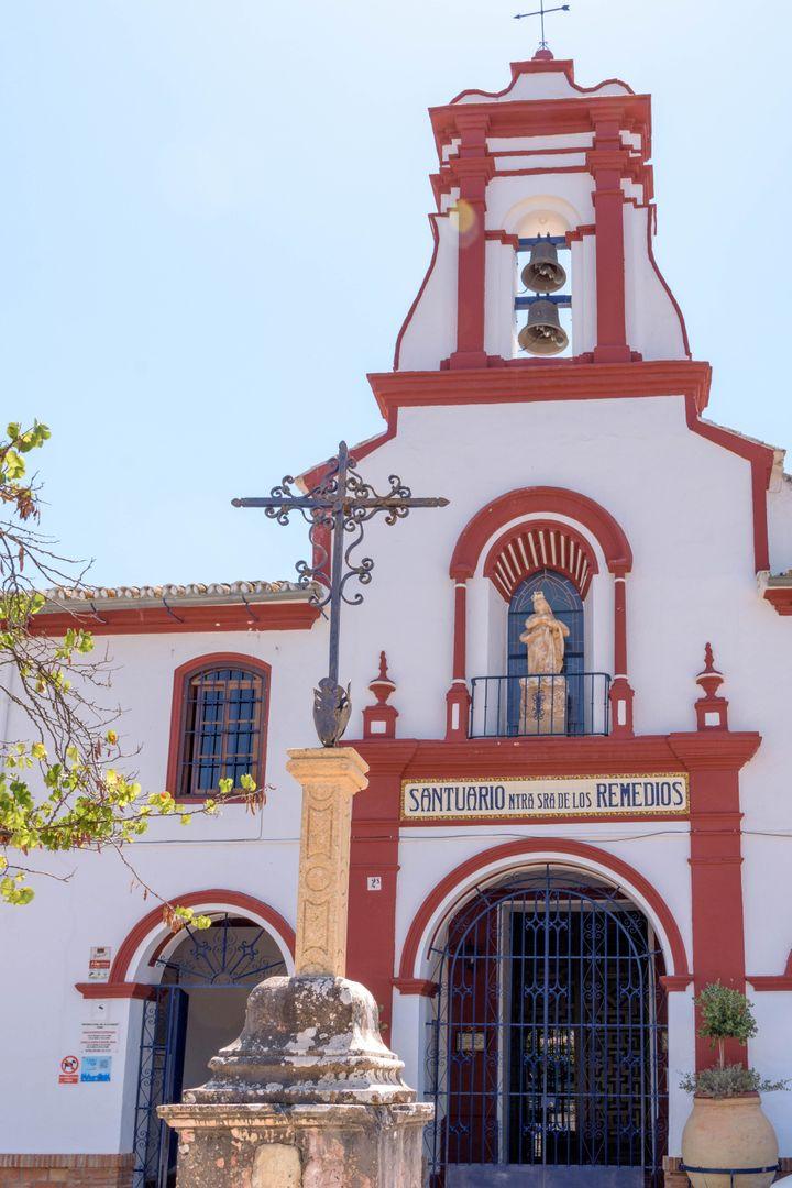 Santuario de Los Remedios.