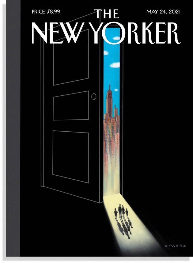 New Yorker Cover Offers Tantalising Glimpse At Post-Pandemic Life