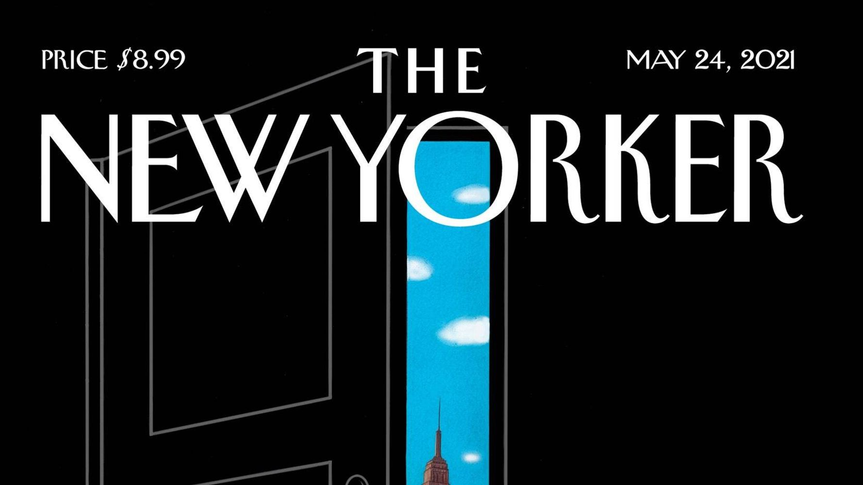 New Yorker Cover Offers A Tantalizing Glimpse Into A Post-Pandemic World