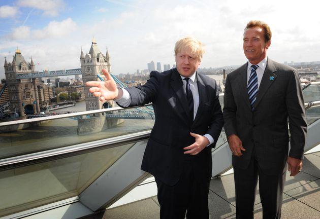 Arnold Schwarzenegger Reckons That Boris Johnson Is The Real Deal