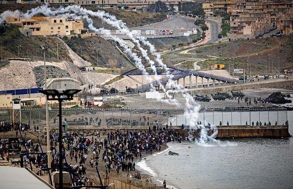 Crisis máxima en Ceuta ante la llegada masiva de
