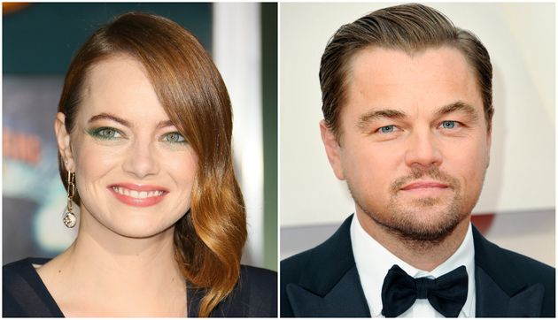 Emma Stone Reveals Why She Suspects Leonardo DiCaprio Thinks Shes A Little Weird