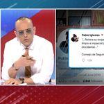Risto se convierte en 'trending topic' por culpar a Pablo Iglesias de la crisis con