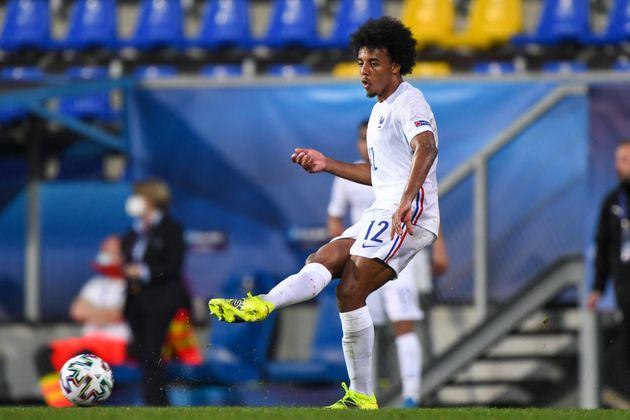 Le joueur du FC Séville Jules Koundé (ici photographié fin mars en Hongrie à l'occasion de la phase de...