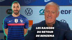 Pourquoi Didier Deschamps a rappelé Karim Benzema pour