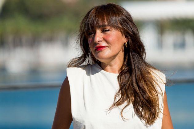 Candela Peña en la presentación de 'Black Beach' en el Festival de Cine de Málaga...