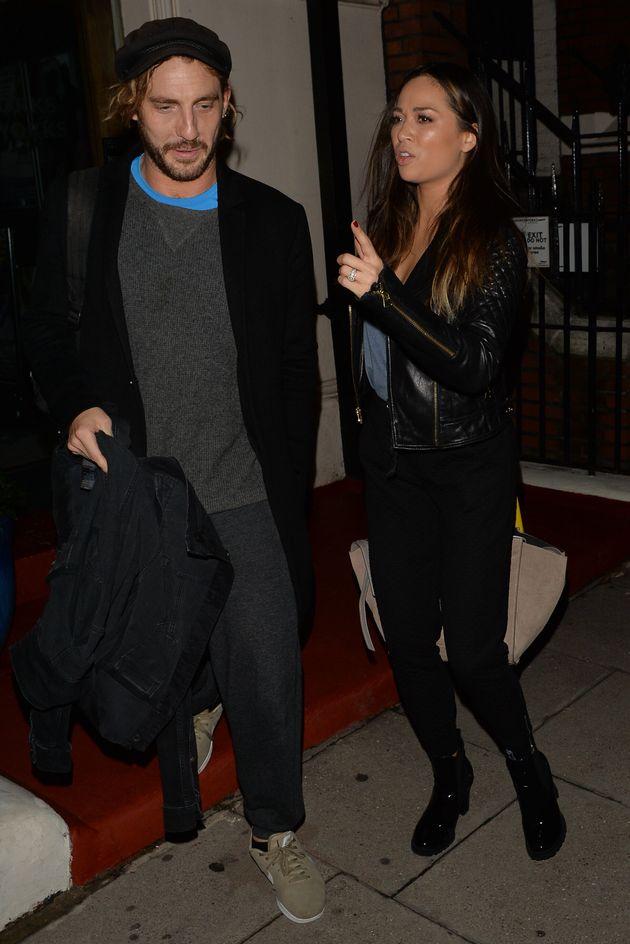 Seann Walsh and former Strictly partner Katya