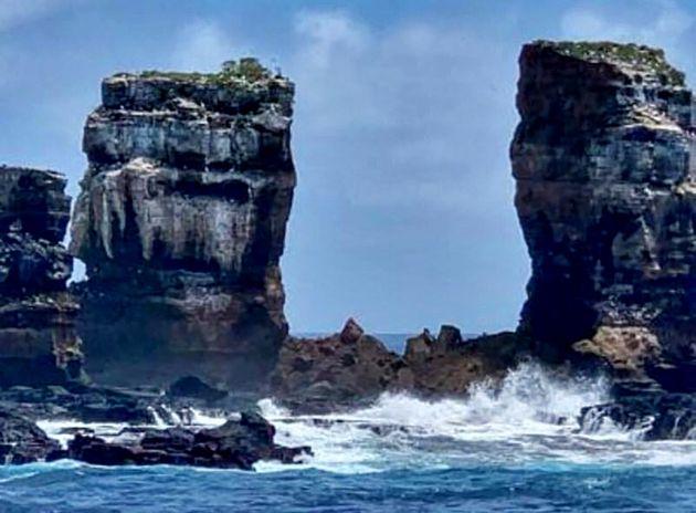 Aux Galápagos, l'arche de Darwin s'est écroulée le 17 mai