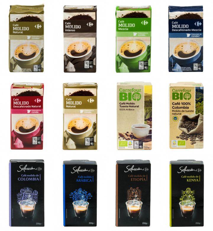 Cafés de Carrefour.
